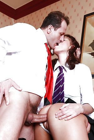 Schoolgirls Kristine Crystalis and Victoria Blaze rendered helpless pussy and swell up bushwa