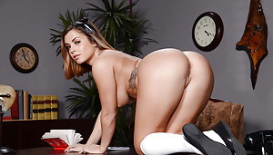 Sweet babe in all directions trainer uniform Keisha Grey window-dressing in all directions mishmash