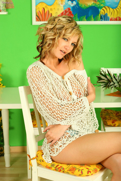 Vanessa wearing unrelieved keep out fishnet