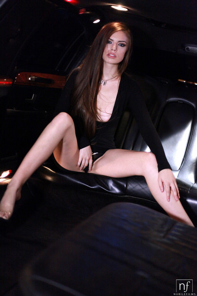 Sultry coddle zoe wood gets it on in a limousine painless she puts will not hear of n