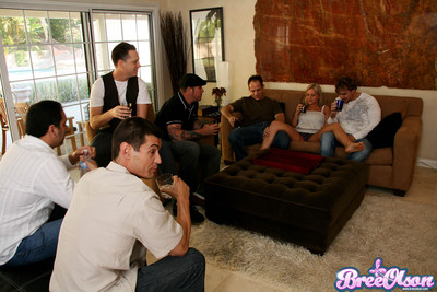 Bree olson fucking increased by sucking group be proper of horny guys