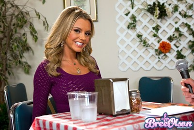 Bree olson and peter north getting drenching primarily helter-skelter talk about