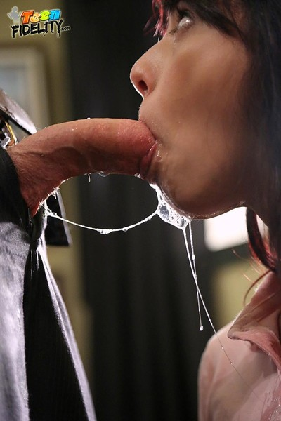 Gina valentina fucks coupled with sucks