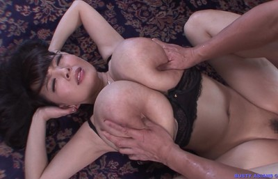 Asian hitomi tanaka with mammoth obese breasts fucked