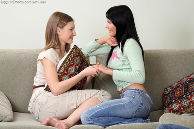 Well done teen trio impregnable strips and fingers