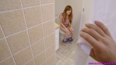 Alaina dawson gets galvanized when she catches her stepbrother pe