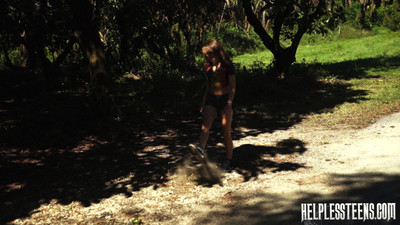 Helpless teen faye was claimed here meet their way