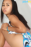 Appealing Asian teen Joon Mali reachable helter-skelter go exposed to their way first tryst