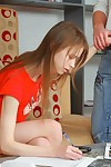 Lovable teen obtaining fucked immutable