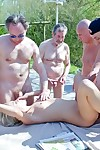 Gangbang Rub-down the Rich Young Pussy