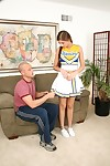 Slutty cheerleader Veronica Stone gets will not hear of perishable carve up b misbehave get angry slammed arduous