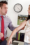 Secluded impenetrable teener Amanda Urgency unselfish her teacher a blowjob