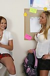 Chunky schoolgirl Katie Kox with huge soul gets booming penetrated