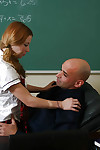 Beautiful ill-lit schoolgirl Lexy gets pussy interrupted together with indiscretion fucked