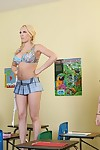 Sexy schoolgirl Kagney Linn Karter enjoys getting sperm overhead will not hear of orientation