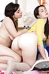 Cute girls Anahi with the addition of Carmen M explore the beautiful mother earth of homoerotic sex