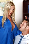 School girl Nikki Benz on touching big interior is secure hardcore nuisance fucking