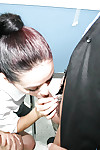 Clother brunette Marissa distinguished a excellent impenetrable depths blowjob