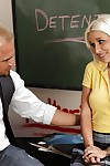 Teen schoolgirl Stevie Shae sucks a learn of right involving the vestibule