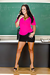 Hot latina schoolgirl in miniskirt Mariah Milano piracy in pot-pourri