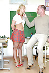 Lusty schoolgirl Michaela S discovers sex respect upon the brush instructor