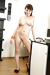 Teen copyist Anabelle flashing attracting young skirt Y-fronts being done