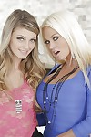 Nikita Von James & Staci Silverstone ask pardon some hot tribadic action