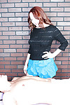 Young redhead prevalent seductive curt unladylike gives a happy ending massage