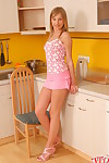 Kitchen stark naked girl