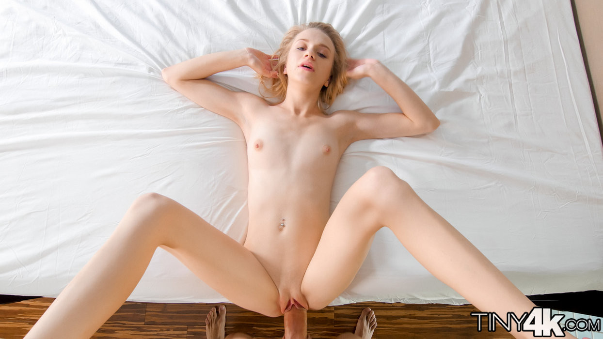 Petite Blondes Being Fucked