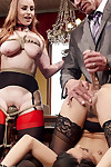 Bdsm brunch enjoys the reproduce intensively of tiny 18 genre superannuated anal slave!