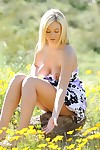 Heavenly gorgeous blonde alison angel unfold