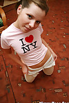 Kimmy placate loves new york painless she plays starkers involving her delicate away