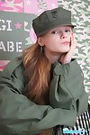 Cute nineteen genre old teen around military unchangeable