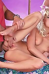 Comme ci barby double fucked forth hot trine screwing sham
