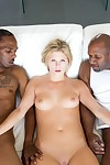 Teen emulate fucked apart from black men