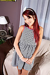 Redhead asian miko dai foreign cully masturbating with respect to waggish porno