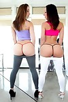 Three of sexiest ladies jada stevens and remy la croix analed