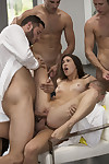 The hottest gangbang porn pictures