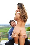 Eva lovia fucks outdoor