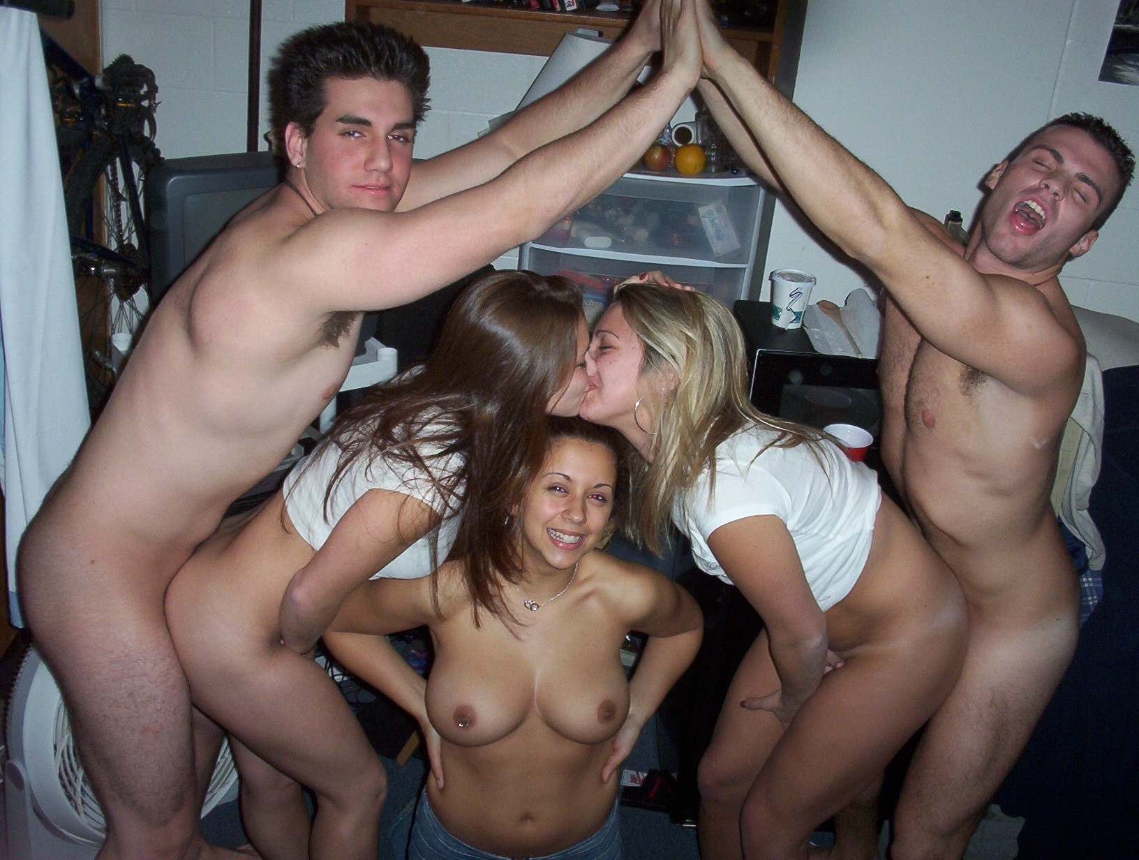 Teen dirty sex party