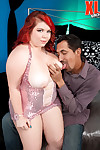 Obese teen redhead fucked on will not hear of first casting
